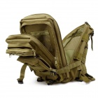 3P Tactical Outdoor Double Shoulder Backpack Bag - Khaki
