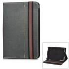 Protective PU Leather + Plastic Case for 7
