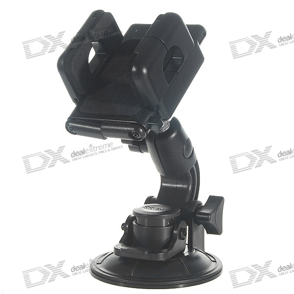 Universal Car Windshield Swivel Mount Dock for PDA Cell Phones/GPS/PMP/MP4 windshield universal swivel rotation car mount holder for cell phone gps psp iphone black