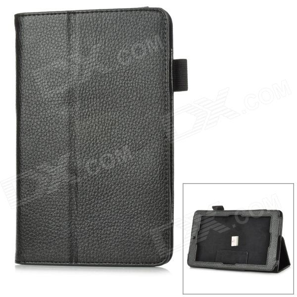 Lychee Pattern Protective PU Leather Case for Asus 172V 7