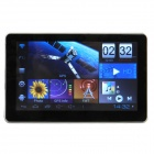 "7"" Touch Screen Android 4.0 Tablet PC GPS Navigator w/ Wi-Fi / FM / TF / Brazil Map - Black"