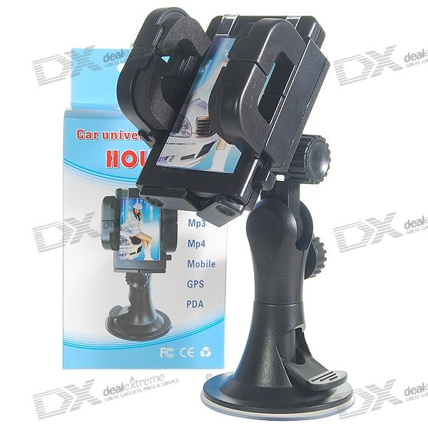 Universal Car Windshield Swivel Mount Dock for PDA Cell Phones/MP3/MP4/GPS windshield universal swivel rotation car mount holder for cell phone gps psp iphone black