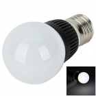 DOGS201305 E27 100lm 6000 ~ 6500K 1-LED White Light Bulb - White (AC 85 ~ 265V)
