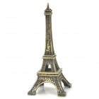 Mini 1:3200 Zinc Alloy The Eiffel Tower Model - Bronze (Size S)