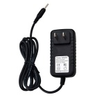 100~240V 50/60Hz 2.5mm US Plug Power Adapter for Tablet PC - Black