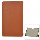 "Protective PU Leather Case for Samsung XE500T1C-A01/2/3, XE700T01-A01/2 11.6"" - Brown"
