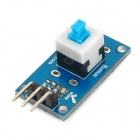 WXM14 Digital Self-Locking Button Module - Blue