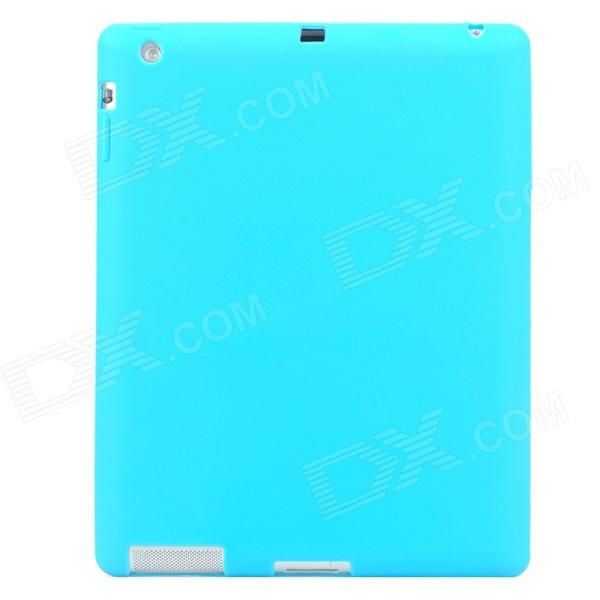 Protective Soft Silicone Case for Ipad 2 / 3 / 4 - Light Blue original lmp f331 projector lamp bulb for sony vpl fh35 vpl fh36 vpl fx37 vpl f600x vpl f501h projectors happybate