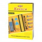 LIAN XING K NO.1253 38-in-1 Multifunction Repairing Screwdriver Tool Kit