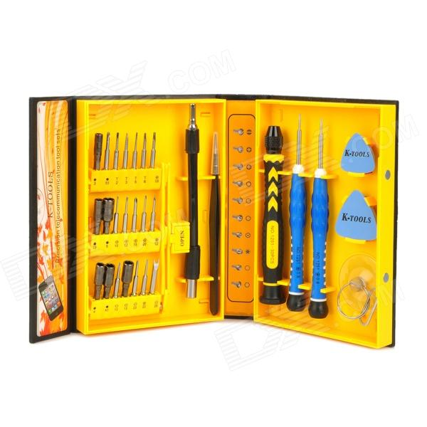 LIAN XING K NO.1251 30-in-1 Multifunction Repairing Screwdriver Tool Kit