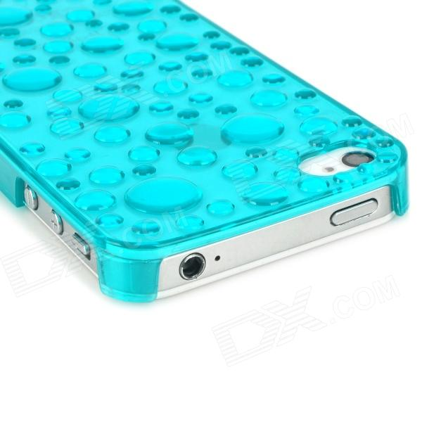 Water Droplet Style Protective Plastic Case For IPhone 4 4S