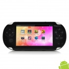 "Megafeis G200 4.3"" Resistive Screen Android 4.0 Game Console w/ Wi-Fi / TF / Camera / HDMI - Black"
