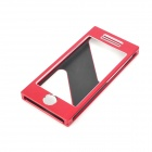 Stylish Aluminum Alloy Full Body Frame Case for Iphone 5 - Red
