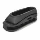 OT0401 Rubber Gunstock Pad w / Magic Tape Strap für AK - Schwarz
