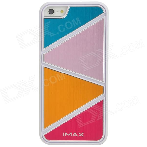 IMAX Protective PVC + Aluminum Case for Iphone 5 - Colorful