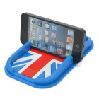 Stylish Mobile Navigation Silicone Anti-Slip Mat - Blue + Red + White