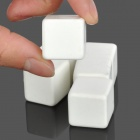 TC-6 FDA Ceramic Cooling Stones for Wine / Drinks - White (6PCS)