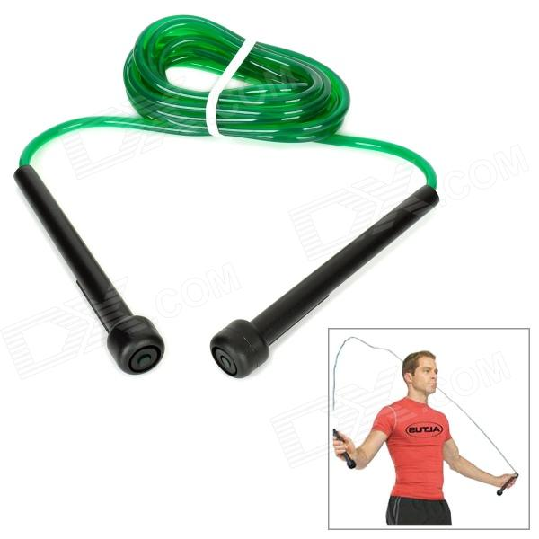 WIN.MAX WMF04537 Nylon + Plastic High Speed Rope for Body Building - Green + Black