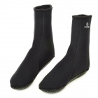WIN.MAX WMB07804 Neoprene Anti-Skid Warmer Stockings for Diving / Winter Swimming - Black (Pair)