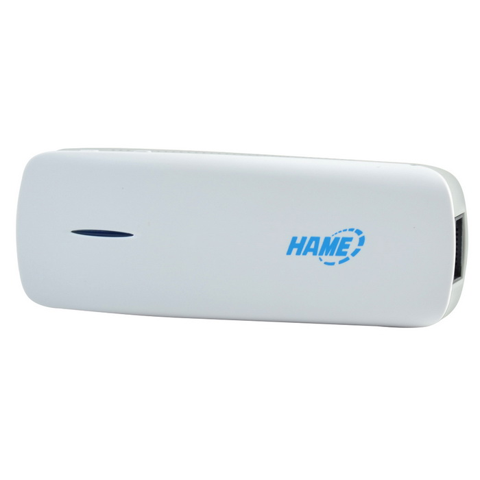 HAME MPR-A1 Wireless 150Mbps Wi-Fi 3G Router + External 1800mAh Power Bank - White + Black