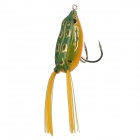 Trulinoya Ray Frog Style Soft Plastic Fishing Lure Bait - Green