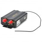 Portable Quad-band Remote GPS / GSM / GPRS Vehicle Tracker w/ Microphone - Black (DC 12~24V)