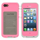 iPEGA I5008E Wasserdicht ABS Case w / 3,5 mm Audio Jack für iPhone 5 - Pink