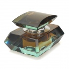 Crystal Automobile Perfume Bottle Container - Translucent Brown