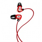 SOMiC L4 London Series In-ear Balanced Armature Earphone for Iphone / Ipad / Ipod / MP3 - Red