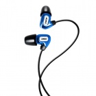 SOMiC L4 London Series In-ear Balanced Armature Earphone for Iphone / Ipad / Ipod / MP3 - Blue