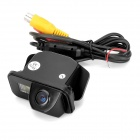 170' Wide Viewing Angles CMOS Rearview Camera w/ 3-LED for Toyota 09~10 Corolla - Black (DC 12V)