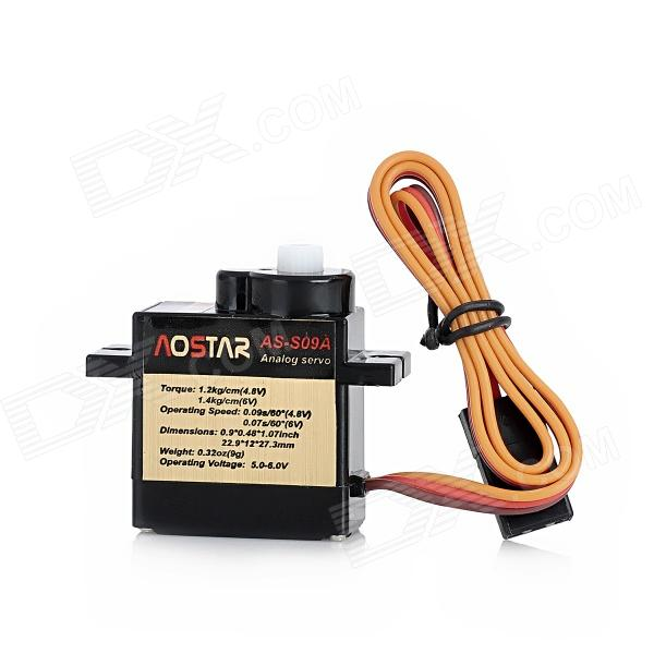 AS-SO9A Servo for Futaba/JR R/C Toy - Black mt3410l 2 3 6v 1 5a sot23 5