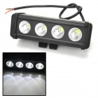 Waterproof 40W 3640lm 6000K 4-CREE XM-L T6 LED White Light Car Working Light Bar - (DC 10~45V)