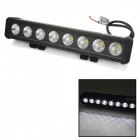80W 7280lm 6000K White Light Car Working Light Bar w/ 8-CREE XM-L T6 LED - (DC 10~45V)