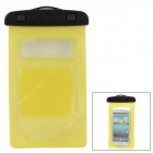 Protective PVC Waterproof Bag for Samsung N7100 / i9300 / i9100 - Yellow + Black