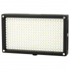 Lishuai 312A Tragbarer 3200 / 5600K LED Light-Kompensation Lamp Bag w / Filter - Schwarz