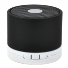 A102C Bluetooth v2.0 Speaker w/ Microphone for Iphone 4 - Black + White