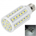 TOHDA TH-LEDJN-10 E27 10W 900lm 6500K 60-SMD 5050 LED White Light Bulb - White + Yellow (220V)