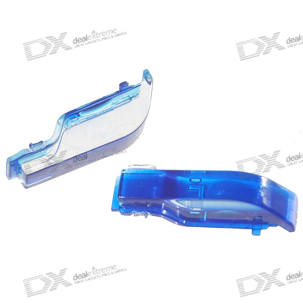 Replacement Blue Shoulder L+R Buttons for PSP Slim/2000 (2-Piece Set)