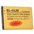 Replacement BL-44JN 3.7V 2450mAh Li-ion Battery for LG Optimus L5 / L3 / E612 / P970 / MS840