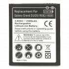 Buy Rechargeable 2300mAh Li-ion Battery Samsung Galaxy Grand / i9080 i9082 - Black + White