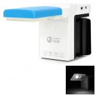 QIDE QD302 Rechargeable 2.5W 200lm 5000K LED White Light Reading Lamp - Black + Blue + White