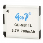 Gudi GD-NB11L Replacement 780mAh Battery for Canon IXUS 125HS / 240US, PowerShot A4000IS + More