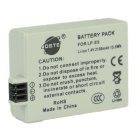 DSTE LP-E5 7.4V 2100mAh bateria de lítio para Canon EOS Rebel XSi / T1i / XS - Light Grey