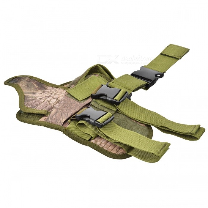 Military Outdoor War Game Gun Pistol Holster - Light Army Green