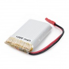 Replacement 3.7V 1000mAh Li-ion Polymer Battery for Electronic Toys - Silver