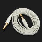 3.5mm Male to Male Audio Connection Cable - White (100cm)