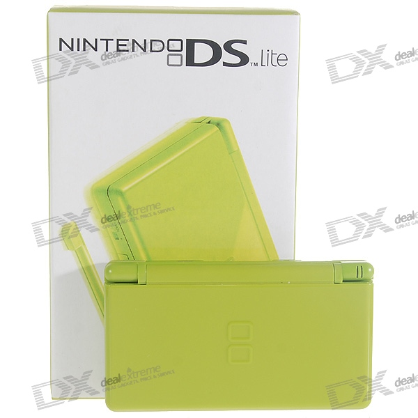 Nintendo DS Lite Portable Entertainment Console Limited Edition - Apple Green (Refurbished)