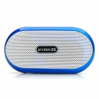SinGBOX SV-507 Portable Amplifier Speaker w/ FM for Iphone + MP3 + More - Blue