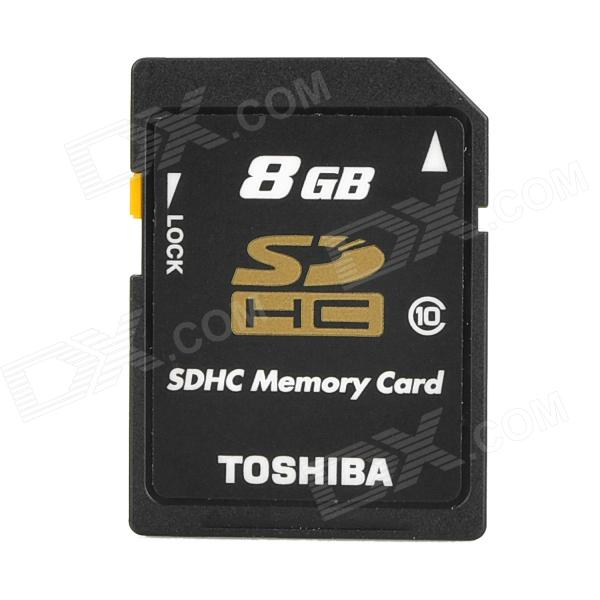 Genuine TOSHIBA SD-K08GR7WA SD Memory Card - Black (8GB) купить холодильник toshiba gr rg59rd gu